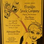 Poster for the inaugural season at FSC, 1997.