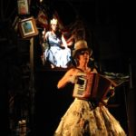 Carmela Marner and Rachelle Garniez in American Fairy Tales, 2009. Photo credit: Brooke Robbins