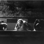 Ed Vassallo, Carmela Marner and Peter Gaitens in Dog in the Manger. 1999. Photo credit: Cat Gareth