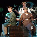 Dave Toomey, Peter Gaitens, Zena Gurbo in A Midsummer Night's Dream, 2007. Photo credit: Steve Monosson