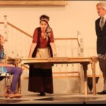 Samantha Nugent, Patricia Buckley and Michael Russoto in Tartuffe 2014. Photo: Rikka Olson