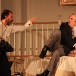 Oliver Wadsworth, Michael Russoto and Carmela Marner in Tartuffe. 2014. Photo: Rikka Olson