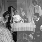 Carmela Marner, Bill Buriss, David Bridel & Donivan Barton in The Mistress of the Inn